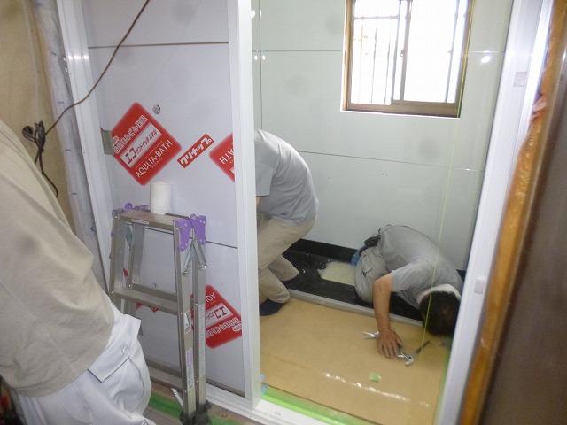 越谷市登戸町 Oさま 浴室改修工事